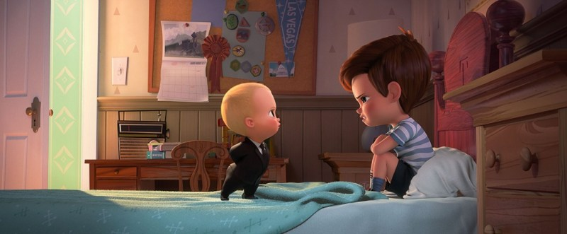 The Boss Baby review - Boss Baby and Tim