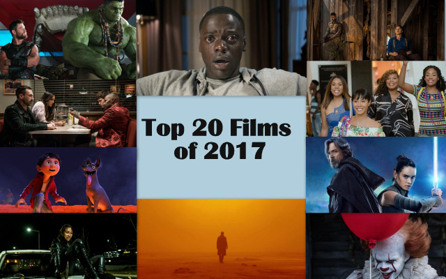 Top 20 Films of 2017