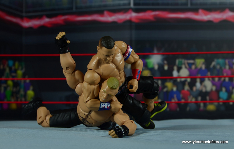 WWE Elite 50 John Cena figure review - STF to Brock Lesnar