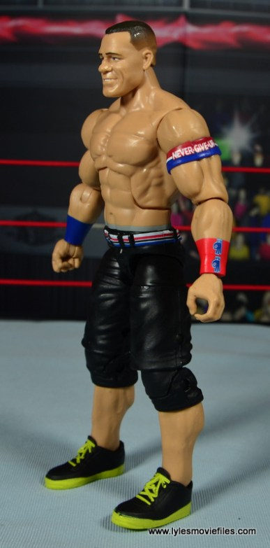 WWE Elite 50 John Cena figure review -left side