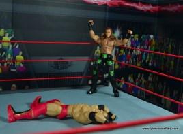WWE Elite D-Generation X Shawn Michaels figure review - corner crotch chop