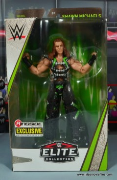 WWE Elite D-Generation X Shawn Michaels figure review - front package