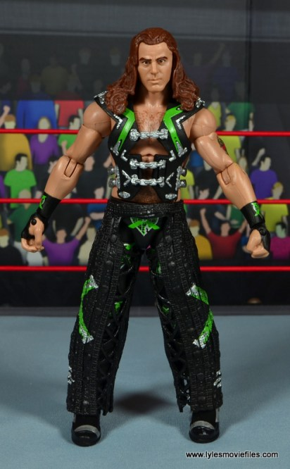 WWE Elite D-Generation X Shawn Michaels figure review - front ring gear
