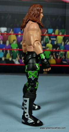 WWE Elite D-Generation X Shawn Michaels figure review - right side