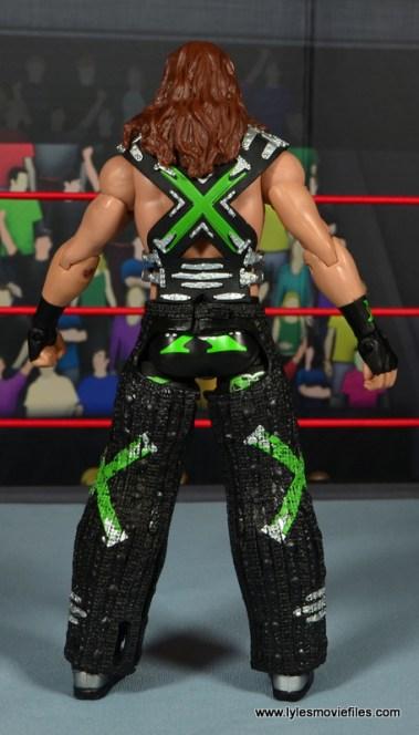 WWE Elite D-Generation X Shawn Michaels figure review - ring gear rear