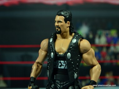 WWE Elite Hall of Fame Diesel figure review -hair left side