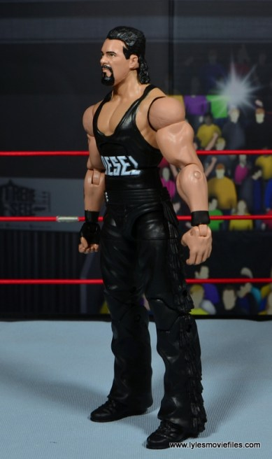 WWE Elite Hall of Fame Diesel figure review -left side