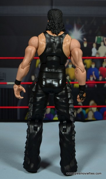 WWE Elite Hall of Fame Diesel figure review -rear