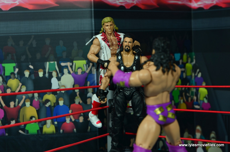 WWE Elite Hall of Fame Diesel figure review -with HBK facing off with Razor Ramon