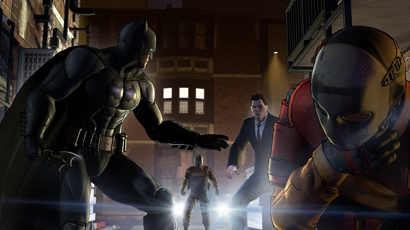 batman the telltale series game review -batman, harvey and the children of arkham