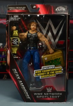 wwe network spotlight dean ambrose figure review -package front