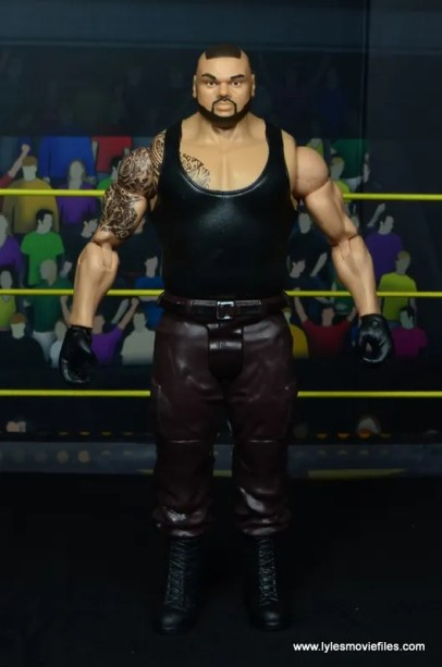 wwe nxt basic akam figure review -front