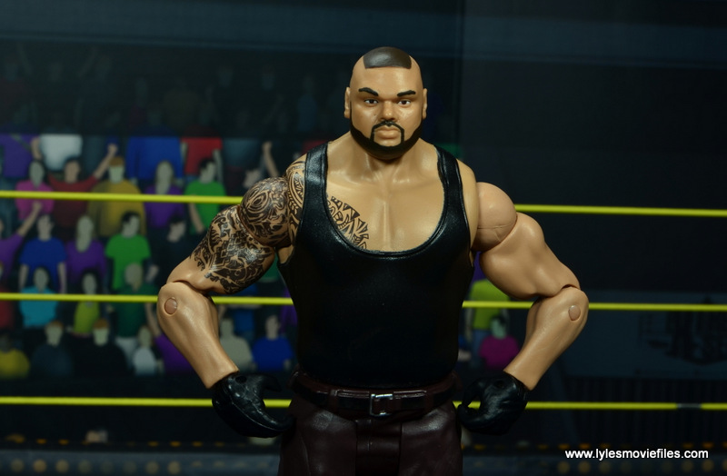 wwe nxt basic akam figure review -wide