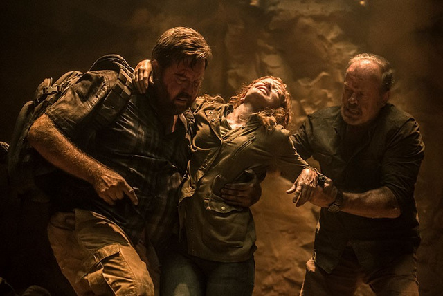 7 guardians of the tomb review - shane jacobson, and stef dawson and kelsey grammer