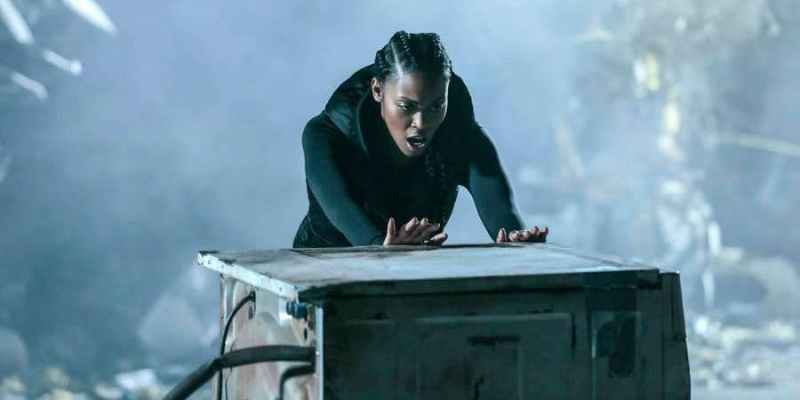 Black Lightning book of burial review Anissa