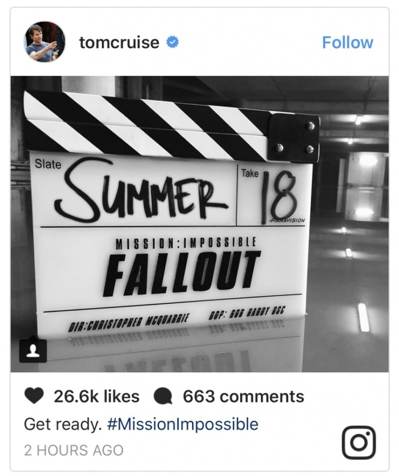 Mission Impossible Fallout set pics