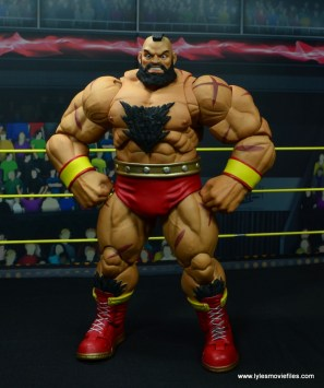 Storm Collectibles Street Fighter V Zangief figure review -hands on hips