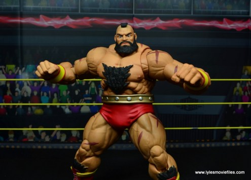 Storm Collectibles Street Fighter V Zangief figure review -wide pic