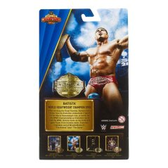 WWE Hall of Champions Elite Collection Batista package rear