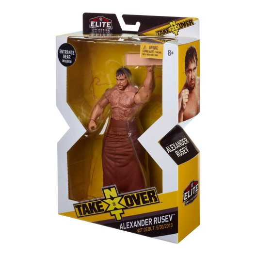 WWE NXT TakeOver Alexander Rusev package side