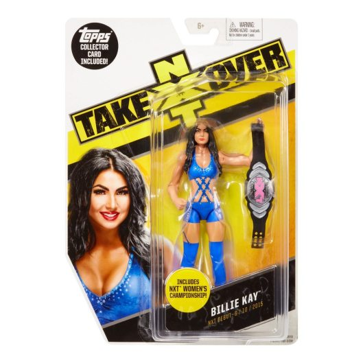 WWE NXT TakeOver Billie Kay Figure package front