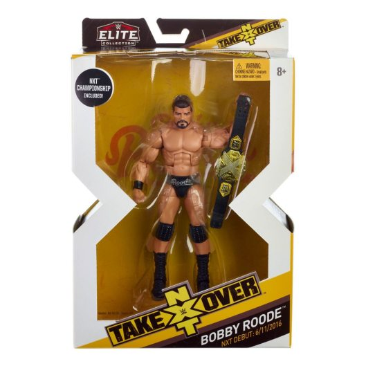 WWE NXT TakeOver Bobby Roode front package