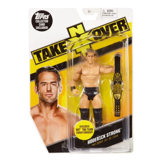 WWE NXT TakeOver Roderick Strong Figure package front