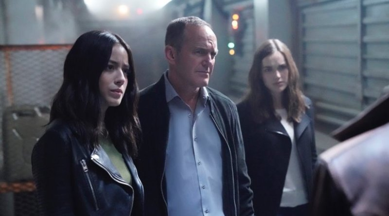 agents of shield orientation part 1 review - daisy, coulson and simmons