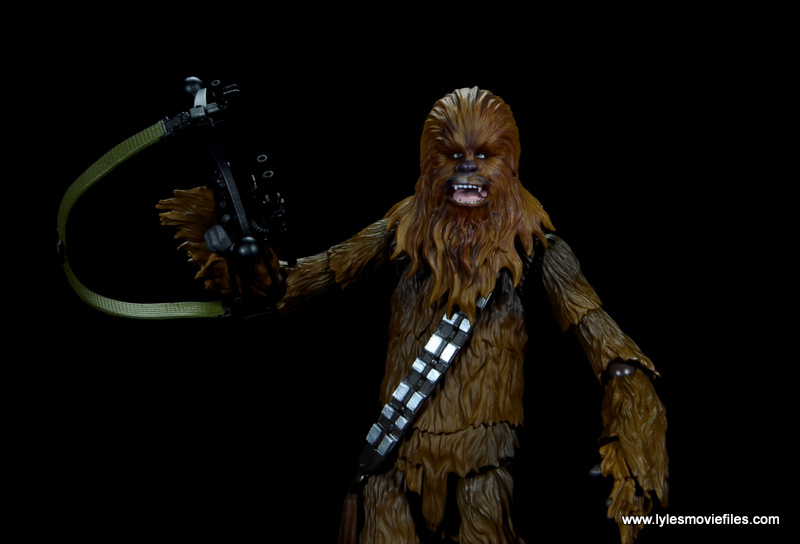 bandai sh figuarts chewbacca figure review -alternate head sculpt