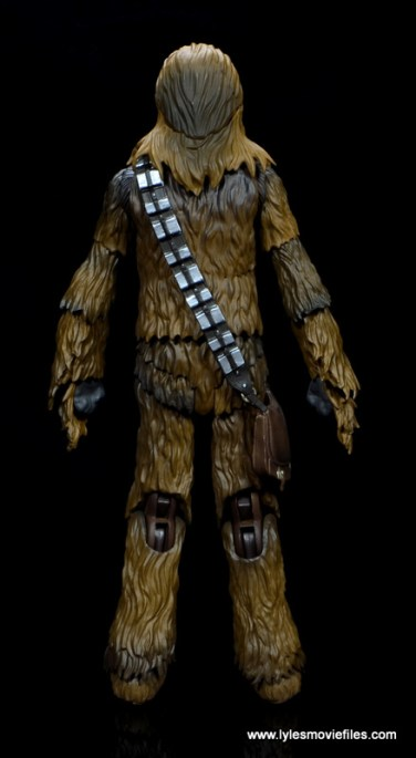 bandai sh figuarts chewbacca figure review - rear