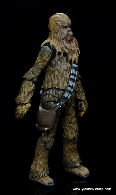 bandai sh figuarts chewbacca figure review - right side