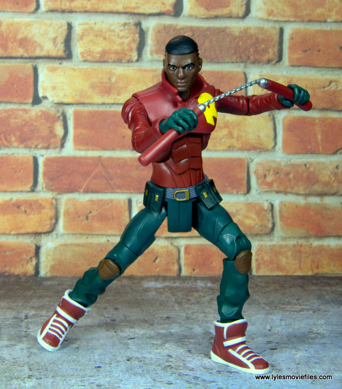 dc multiverse duke thomas figure review - battle ready