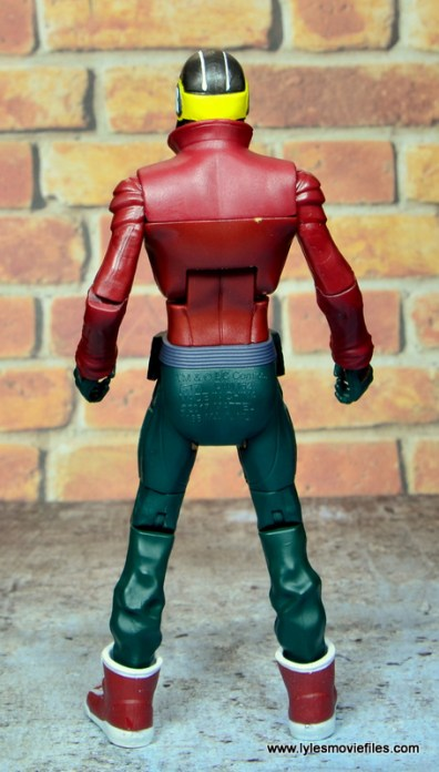 dc multiverse duke thomas figure review - rear