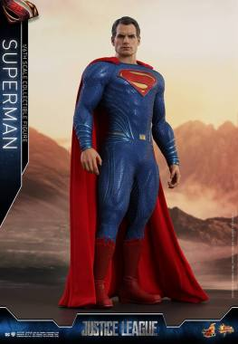 hot toys justice league superman figure review -hero pose