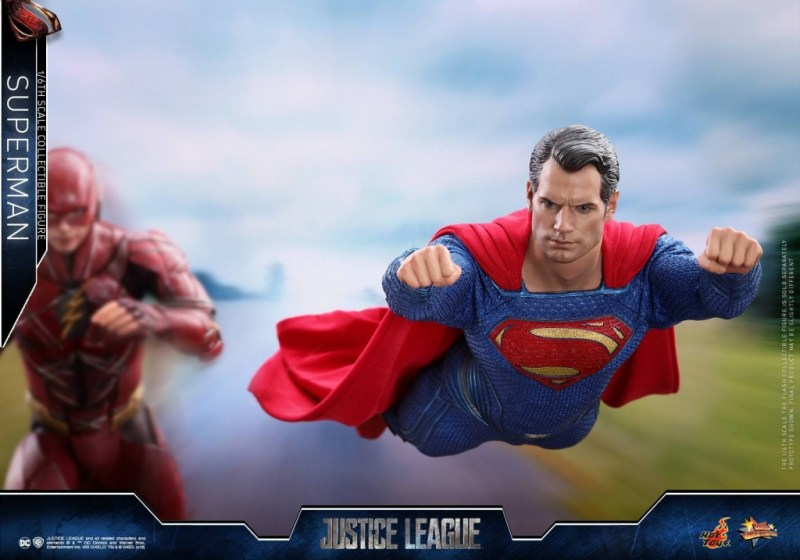 hot toys justice league superman figure review -racing Flash