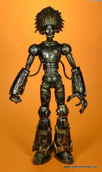marvel legends baf warlock figure review -front