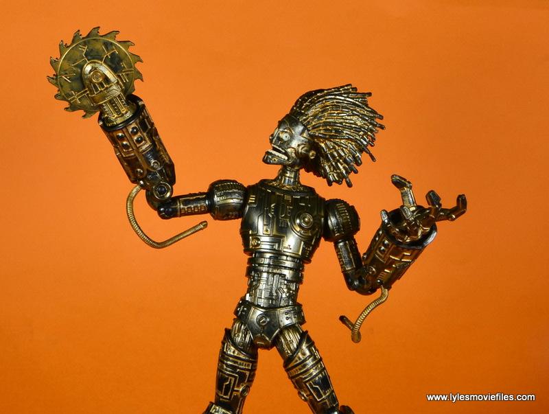marvel legends baf warlock figure review -lifting buzzsaw