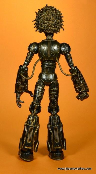 marvel legends baf warlock figure review -rear