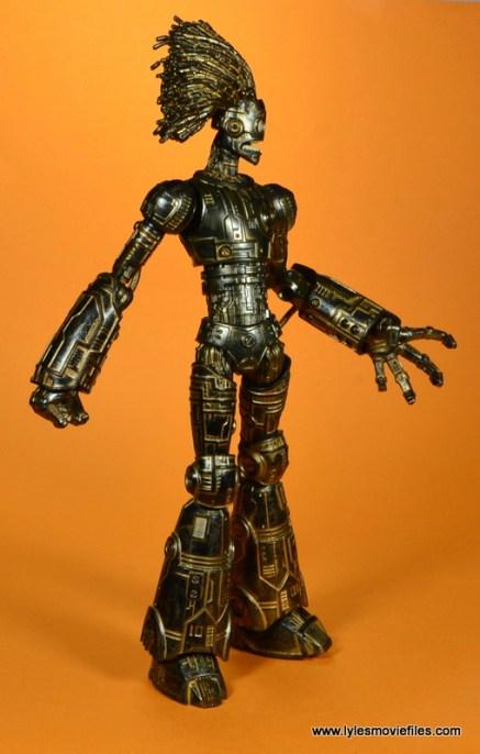 marvel legends baf warlock figure review -right side