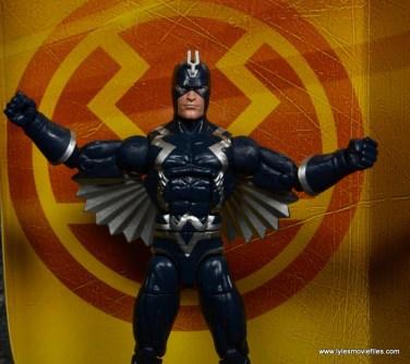 marvel legends black bolt figure review -against backdrop