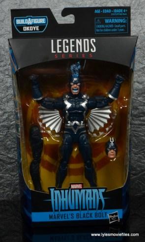 marvel legends black bolt figure review -package front
