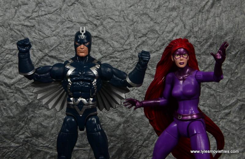 marvel legends black bolt figure review -with medusa