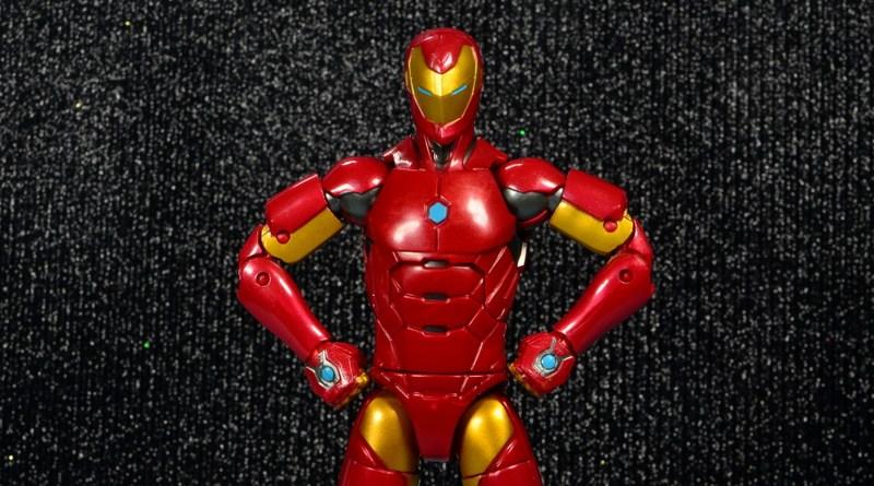 marvel legends invincible iron man figure review -main pic