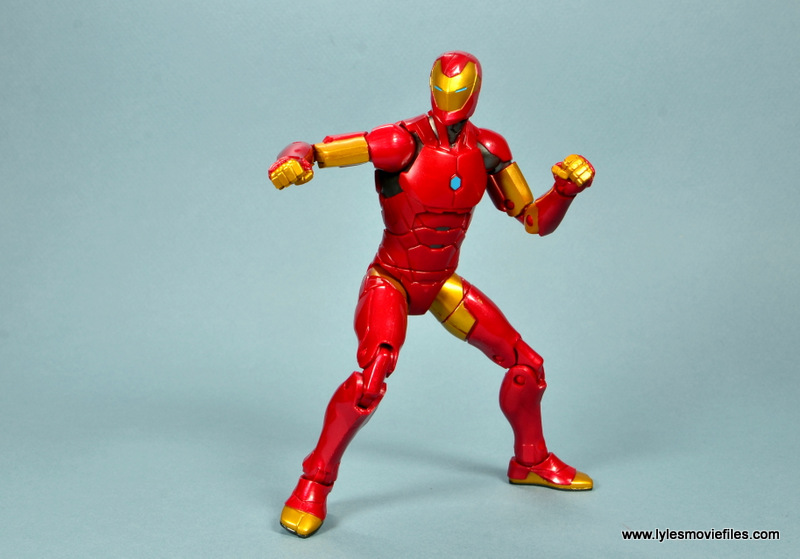 marvel legends invincible iron man figure review -ready for action
