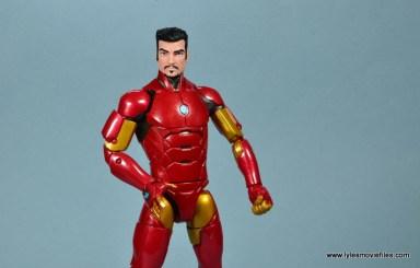 marvel legends invincible iron man figure review -stark head sculpt