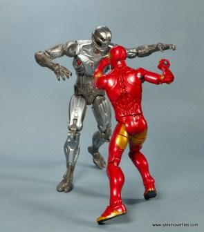 marvel legends invincible iron man figure review -vs ultron