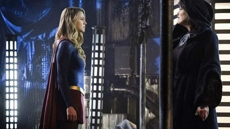 supergirl fort rozz review - supergirl and rozz