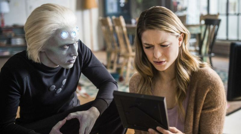 supergirl-legion-of-superheroes-review brainiac 5 and kara