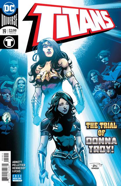 titans #19 cover
