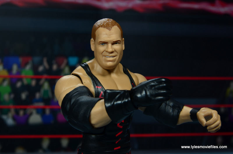 wwe elite 47b kane figure review -eyes close up